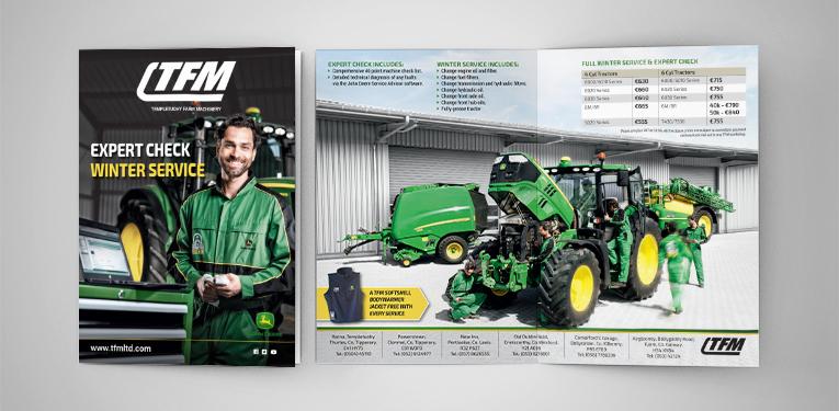 TFM expert check A4 brochure
